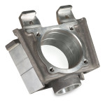 "Axle housing, A356 T6, 33.0 lbs, 12.0"" x 4.2"" x 11.2"", EAU 400"