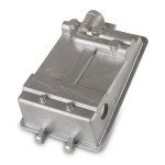 "Controls housings case, A356 T5, 4.3 lbs, 11.0"" x 7.5"" x 0.25"" wall thickness, EAU 2000"