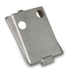 "Controls housings cover, A356 T5, 2.7 lbs, 11.0"" x 7.5"" x 0.25"" wall thickness, EAU 2000"