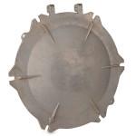 "Tanker car lid, A356 T6, 21.0 lbs, 20.0 "" diameter, EAU 1000"