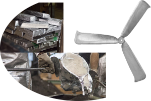 Eagle Aluminum Case Study: Cast Aluminum Fan Blade